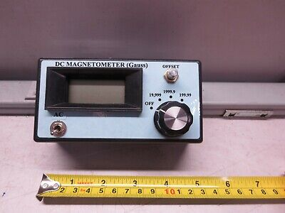 Alphalab No Partmodel Number Dc Magnetometer Gauss Not Tested