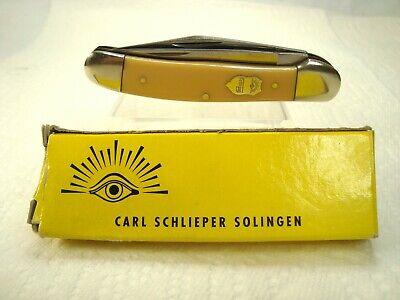 Carl Shlieper Soligen Germany hand forged eye brand #GXY Copperhead Pocket Knife