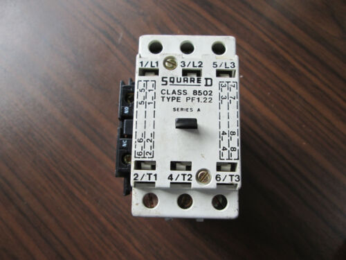 Square D 8502 PF1.22 Contactor With 120 Volt Coil (40 Amp)