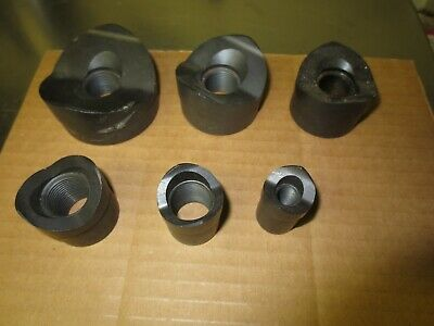 Ideal Conduit Knockout Punch Only Set 2 1-12 1-14 1 34 12 6 Punches