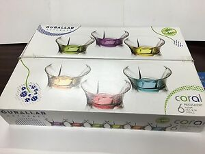 New 6x desert Ice cream glass bowl cup set + ice cream scoop Strathfield Strathfield Area Preview