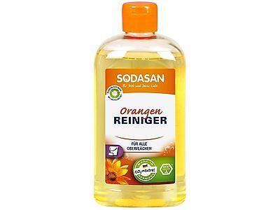 (6,10/L) Sodasan ökol.Orangenreiniger Universalreiniger Orangenöl 500 ml
