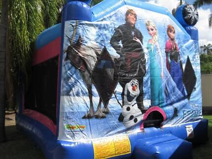 Disney Frozen Jumping Castle Hire Brisbane & Ipswich