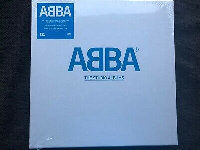 ABBA The Studio Albums - Box Set 180g new vinyl 8LP 2014 - Sealed mint rare OOP
