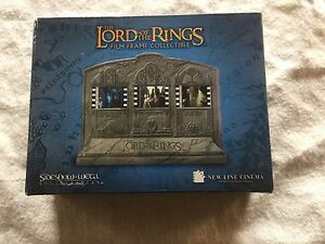 Lord of the rings film frame collection.