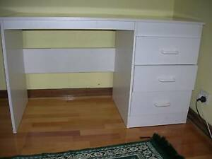 WHITEWOOD DRAWERS & DESK Panorama Mitcham Area Preview