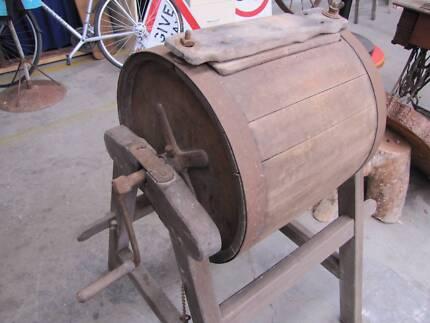 Antique Butter Churn, internal paddles, Barrel Churn, vintage Stawell Northern Grampians Preview