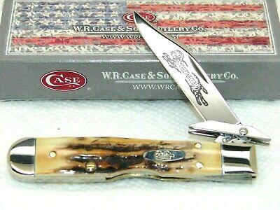CASE XX USA,2006, 511-1/2L CHEETAH CUB KNIFE, SUPER PRETTY STAG, NICE & MINT