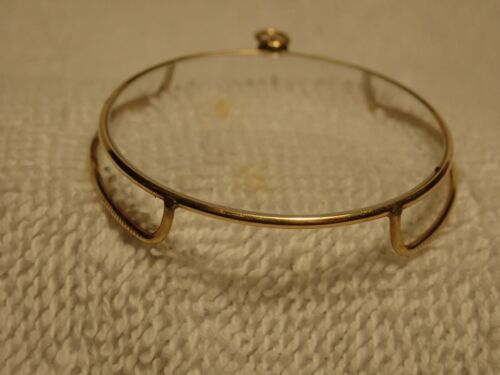 10K SOLID GOLD TRADITIONAL MONOCLE IN GREAT CONDITION FOR BEING 100 YEARS OLD!