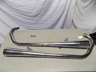 76 <em>YAMAHA</em> <em>XS 500</em> COMPLETE ORIGINAL EXHAUST LEFT  RIGHT HEADER PIPES M