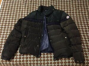 Moncler jacket sz 2 w/ attachable hoodie