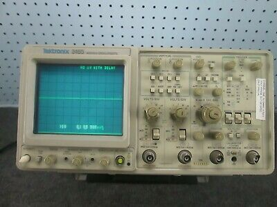 Tektronix 2465 Analog Oscilloscope 4 Channel 300mhz