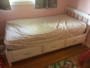 Captains Bed Including Mattress