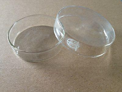 5pcs Glass Tissue Culture Plate Petri Dish Lab 100mm