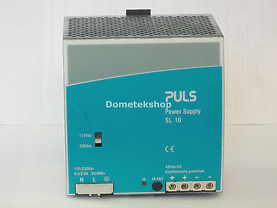 Puls Sl10.101 Power Supply. Output 48 Vdc 5a