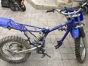 Yamaha Dirt bike chassis