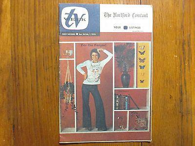 1975 Hartford Courant Tv Week Karen Valentine Room 222 Jean Marsh Gordon Jackson