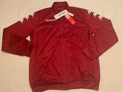 NWT Kappa Soccer Track Jacket XL Regular Fit