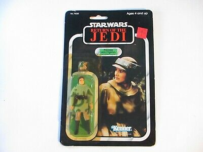 Vintage Star Wars Return of the Jedi Princess Leia Figure MOC ROTJ 77 Back