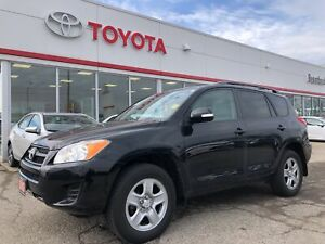2012 Toyota RAV4 Base, FWD, Only 52183 Km's, Sunroof, Bluetooth