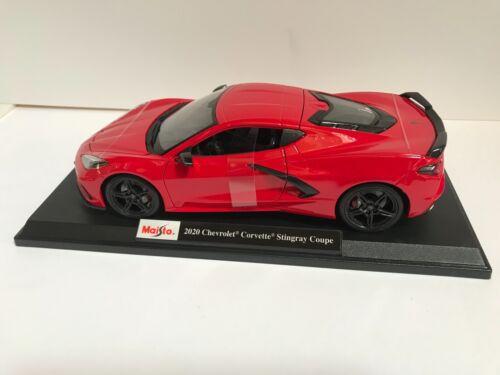 Maisto 2020 Chevrolet Corvette Stingray C8 Special Edition Exclusive Style Red