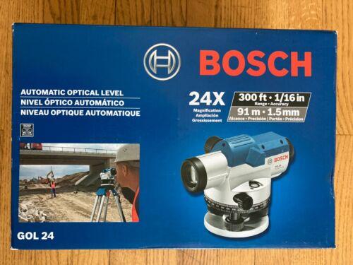 Bosch GOL24 Automatic Optical Level (24x Magnification Power Lens)