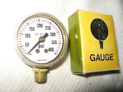 Victor Equipment 1424-0149 Regulator Gauge 1-12 Inch 400 Psi Made In Usa