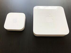 Apple AirPort Extreme Base Station and Airport Express