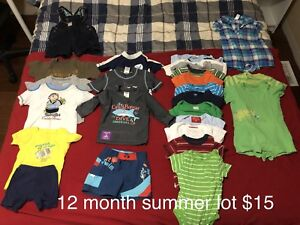12-18 month boy clothing lots