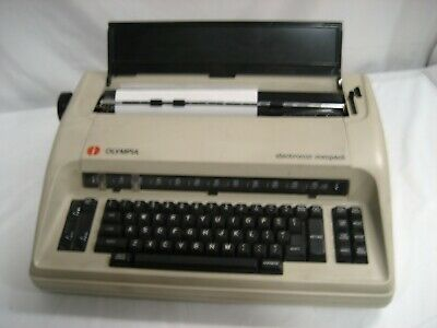Refurbished Olympia Compact One Typewriter Fully Featured Full Size Wwarranty