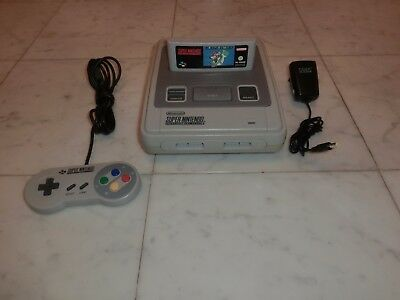 Super Nintendo / SNES Kult-Konsole inkl. Super Mario World & Contr. 2J. Garantie