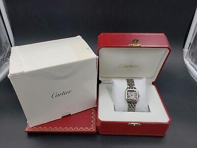 Cartier PANTHÈRE Midsize Steel 27MM W25032P5 WSPN0007 NEW OldStock B&P LussoTime