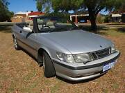 1997 Saab 9-3 turbo Convertible telledega limited edition. Booragoon Melville Area Preview