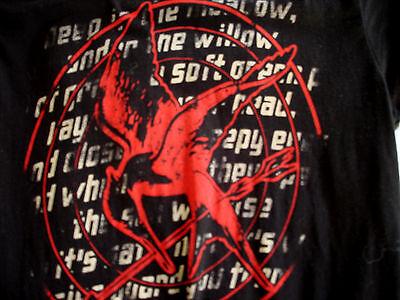 Hunger Games Woman (The Hunger Games Mockingjay Women's / Girl's T-shirt Tee Tshirt SZ)