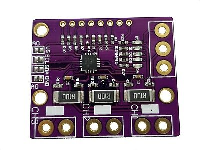 I2c Ina3221 Triple-channel Shunt Current Voltage Monitor Sensor Re Ina219 Module