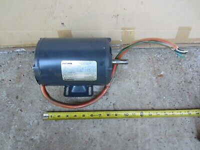 Craftsman 34 Hp 1 Phase 1725 Rpm 110230 V 58 Shaft