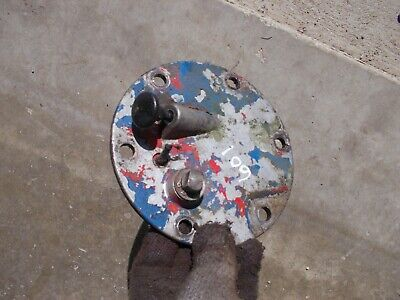 Ford 601 Work Master Tractor Hydraulic Oil Cover Panel W Dip Stick Lever