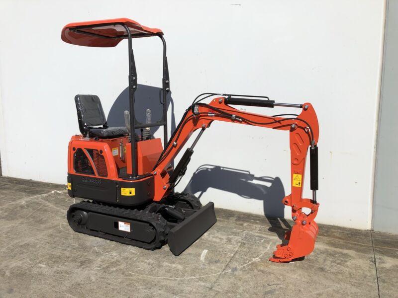 New 2019 Rhinoceros XN08 Mini Excavator Inc 9 Attachments