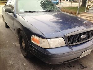 2009 Ford Crown Victoria Propane Converted