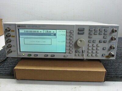 Hp Esg-d3000a E4432adigital Rf Signal Generator 250khz-3000mhz Options 1e5un3