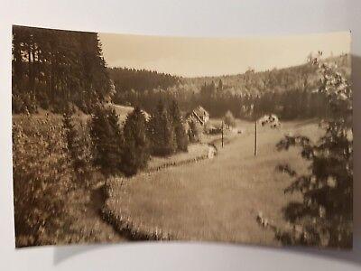 PostkarteSchmiedefeld am RennsteigBlick zum alten Hammer1962 ()