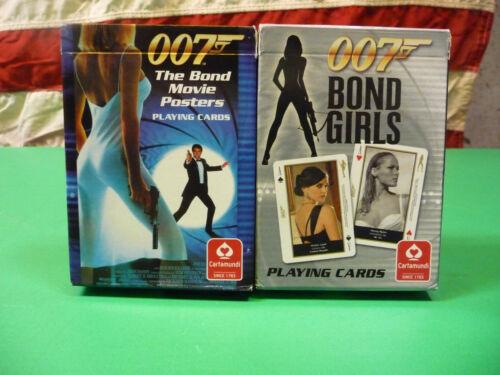 James Bond 007 Bond Girls-1962 to 2008 Plus Movie Poster Playing Cards-1962-2008