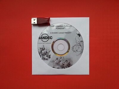 RANDEC FOKSS4th NET Software+Aladdin HASP HL NET250+ USB Red Security Key dongle