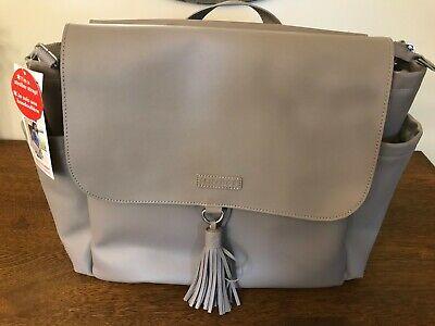 Skip Hop Greenwich Convertible Backpack Diaper Bag Portabella Gray NWT!
