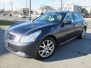 2009 Infiniti G37x Luxury G37XS ,Leather,Sunroof,AWD