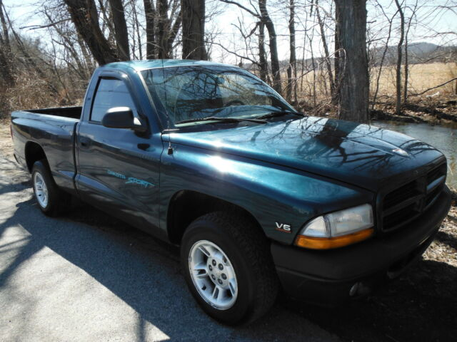 1998 dodge dakota sport with air conditioning 3 9 liter 6. Black Bedroom Furniture Sets. Home Design Ideas