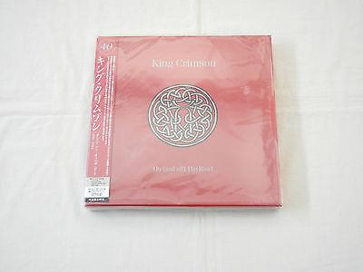 King Crimson JAPAN On (and off) The Road 40th Anniversary CD BOX  PROMO BOX SET