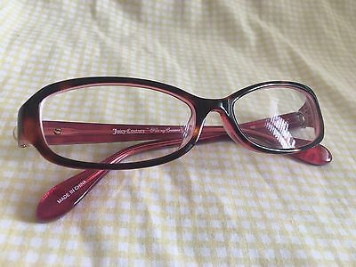 Juicy Couture Erin 01C0 Kiss My Couture Red Tortoise RX Eyeglasses 130 with Case