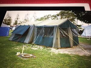 Canvas Tent ( heavy duty) Regents Park Logan Area Preview