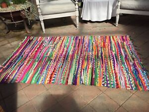 Colourful Floor Rug Made In India